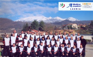 Squadra dell'Atletica Amatori Lauria